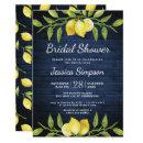 Wood & Lemons Greenery Watercolor Bridal Shower