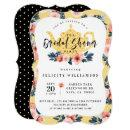 Yellow Floral Tea Party Bridal Shower